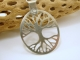 Sterling Silver Tree of Life Pendant Necklace