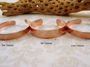 Copper Cuff - 5 styles - your choice